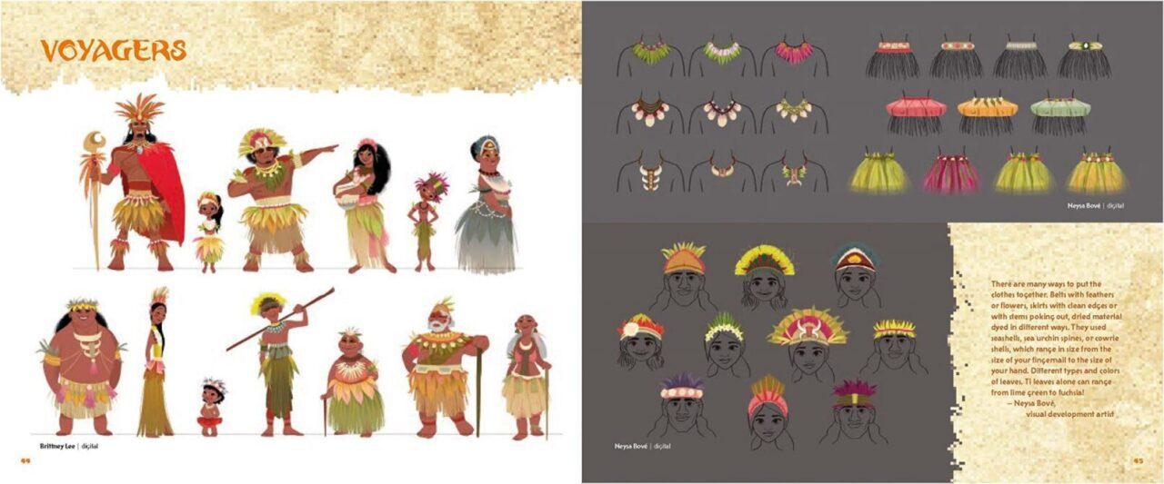 The Art of Moana (Vaiana) Disney   Art Book
