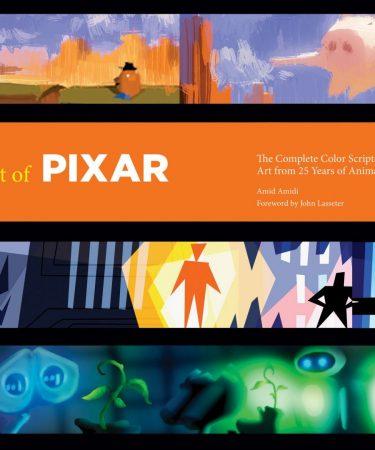 libro The Art of Pixar Art Book