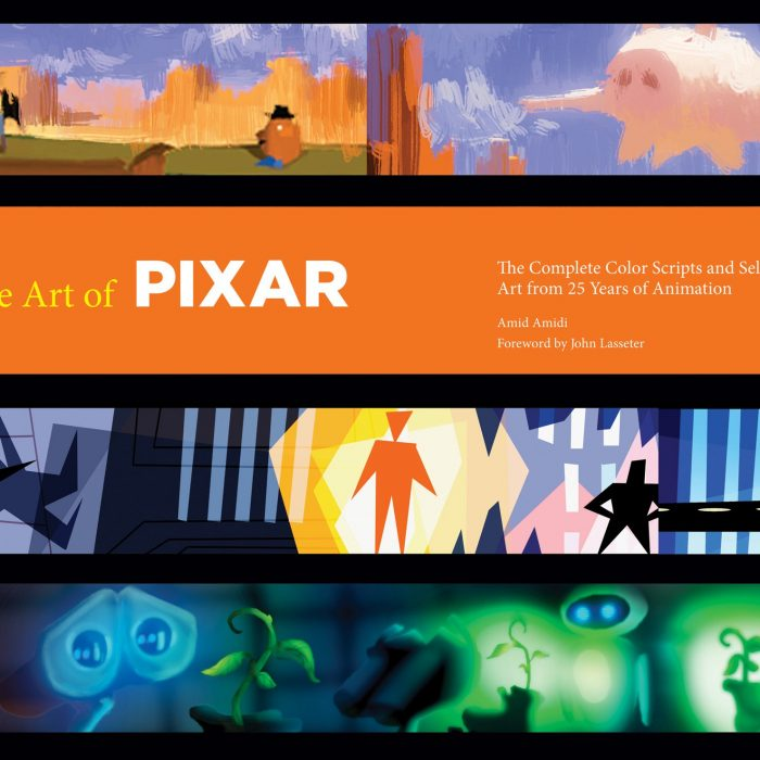 libro The Art of Pixar Art Book