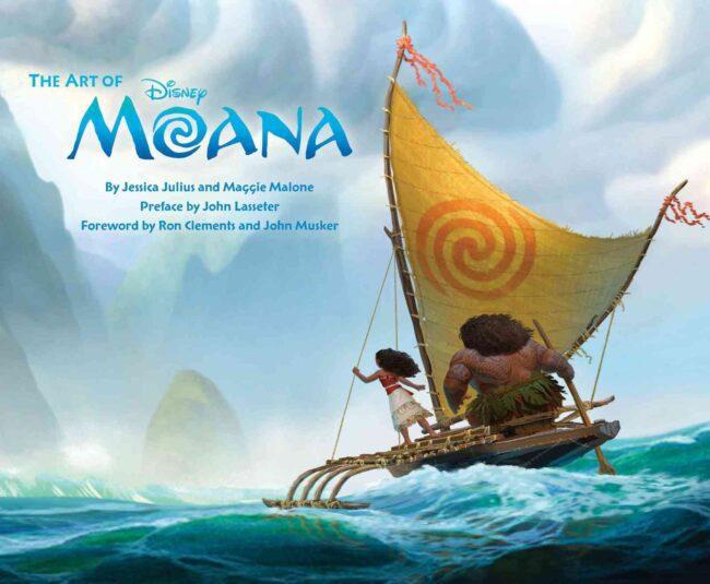 comprar the art of moana artbook