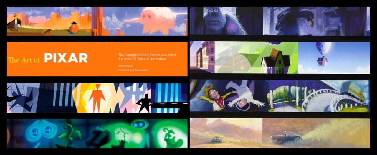 libro el arte de pixar art book