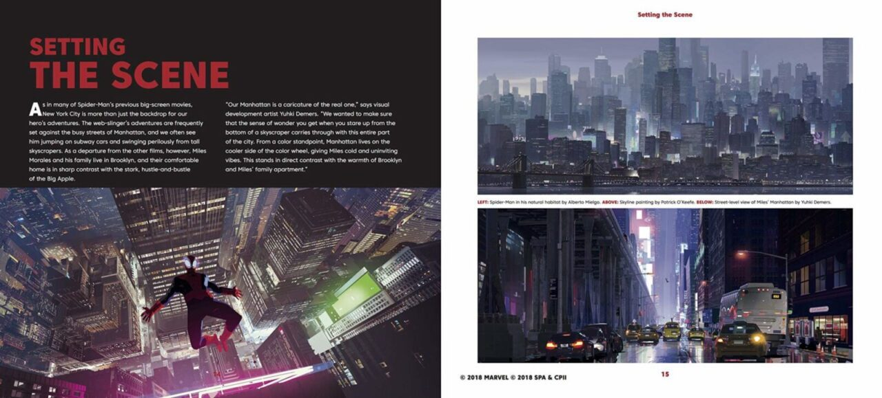 The Art of Spider-Man: Into the Spider Verse | ArtBook