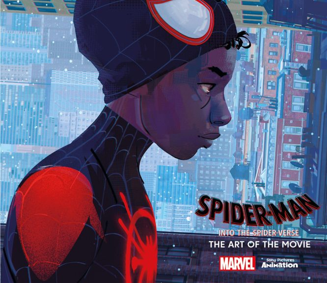 SpiderMan Into the SpiderVerse - ART BOOK