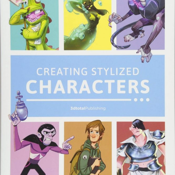 libro sobre diseño de personajes
