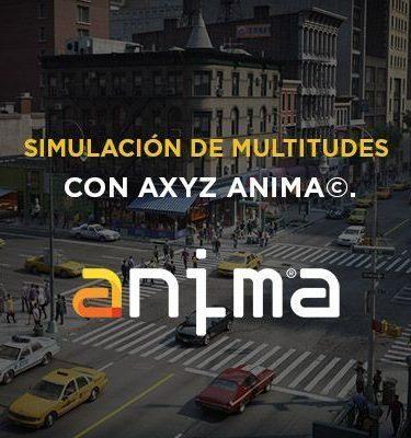 curso online de anima AXYZ - multitudes crowds