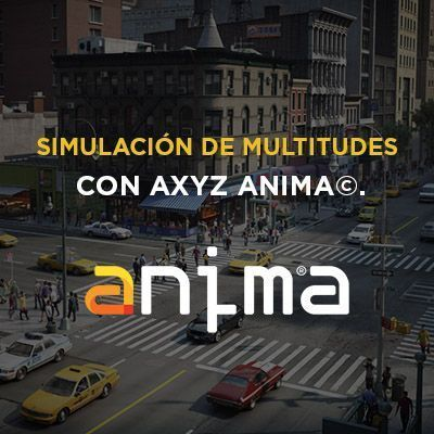curso online de anima AXYZ - multitudes crowds
