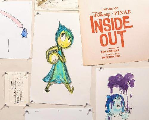 The Art Of Inside Out artbook