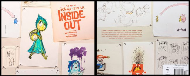 the art of inside out - artbook
