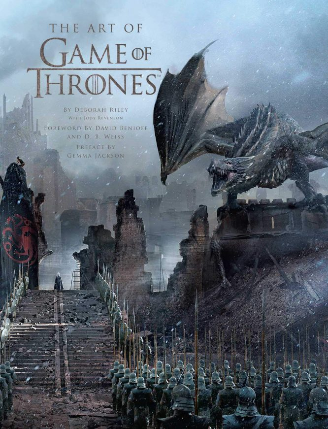 art book game of thrones