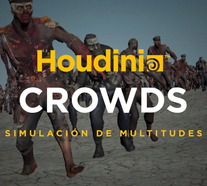Curso Online Houdini Crowds animación de Multitudes
