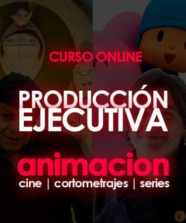 curso online producción ejecutiva de animación