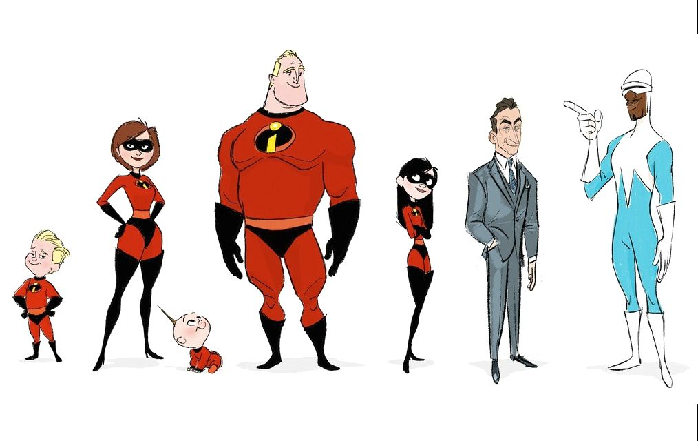 artbook incredibles 2