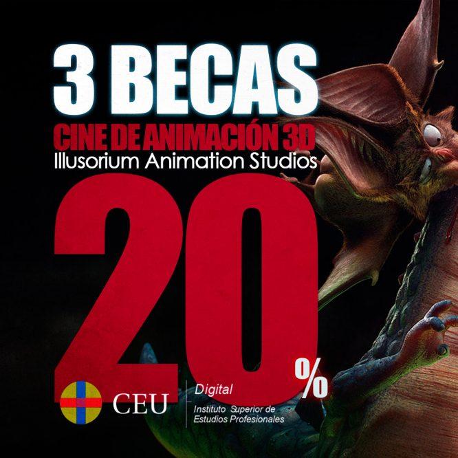 máster de animación 3d online