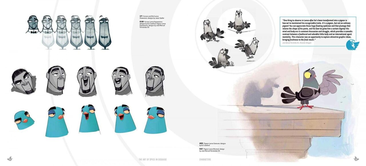 The Art of Spies in Disguise artbook