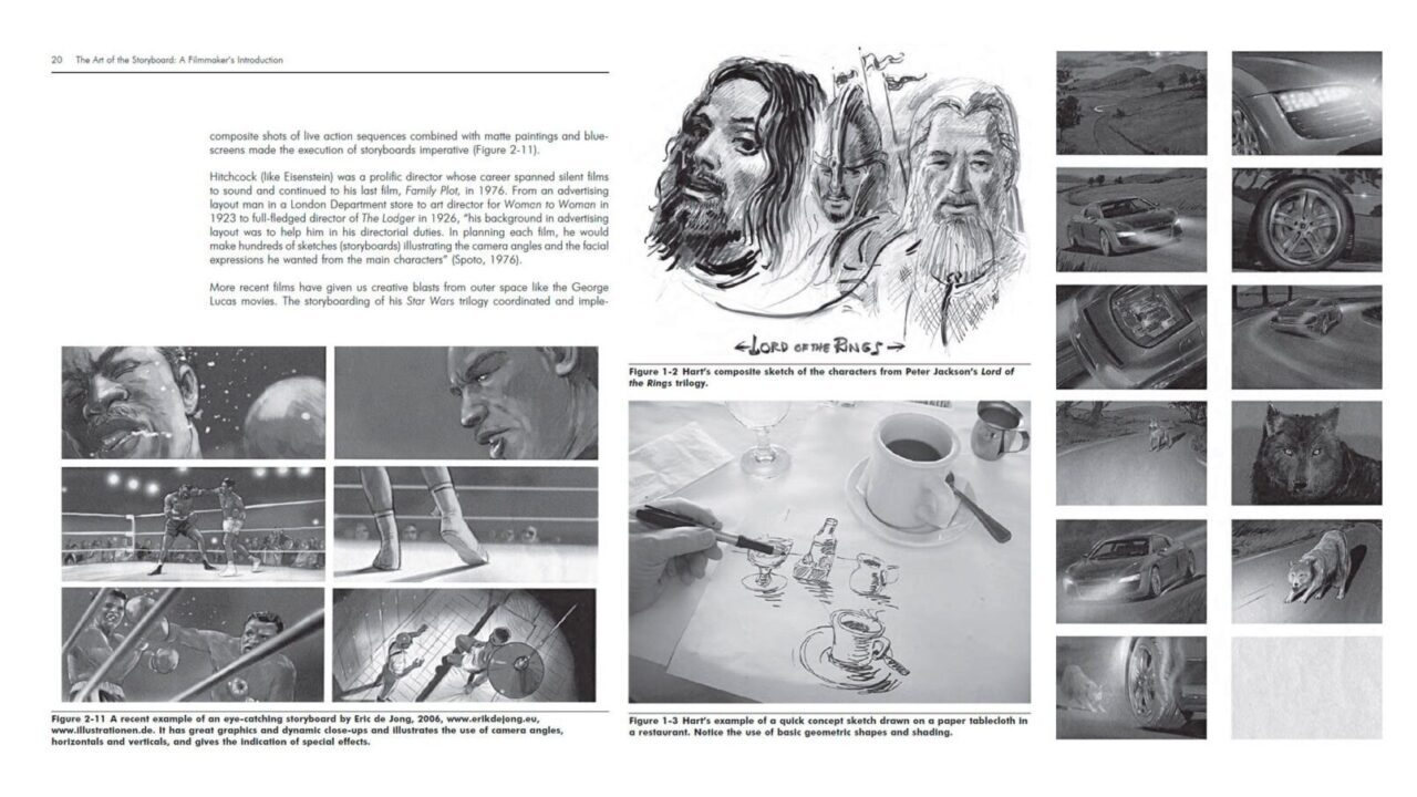 the art of storyboard
