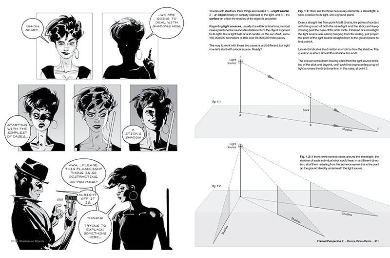 Framed Perspective Vol. 2 Technical Drawing for Shadows, Volume, and Characters