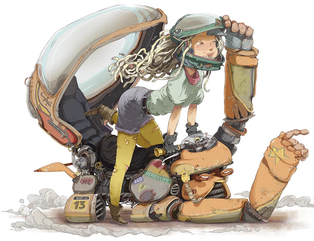 diseño de personajes online
