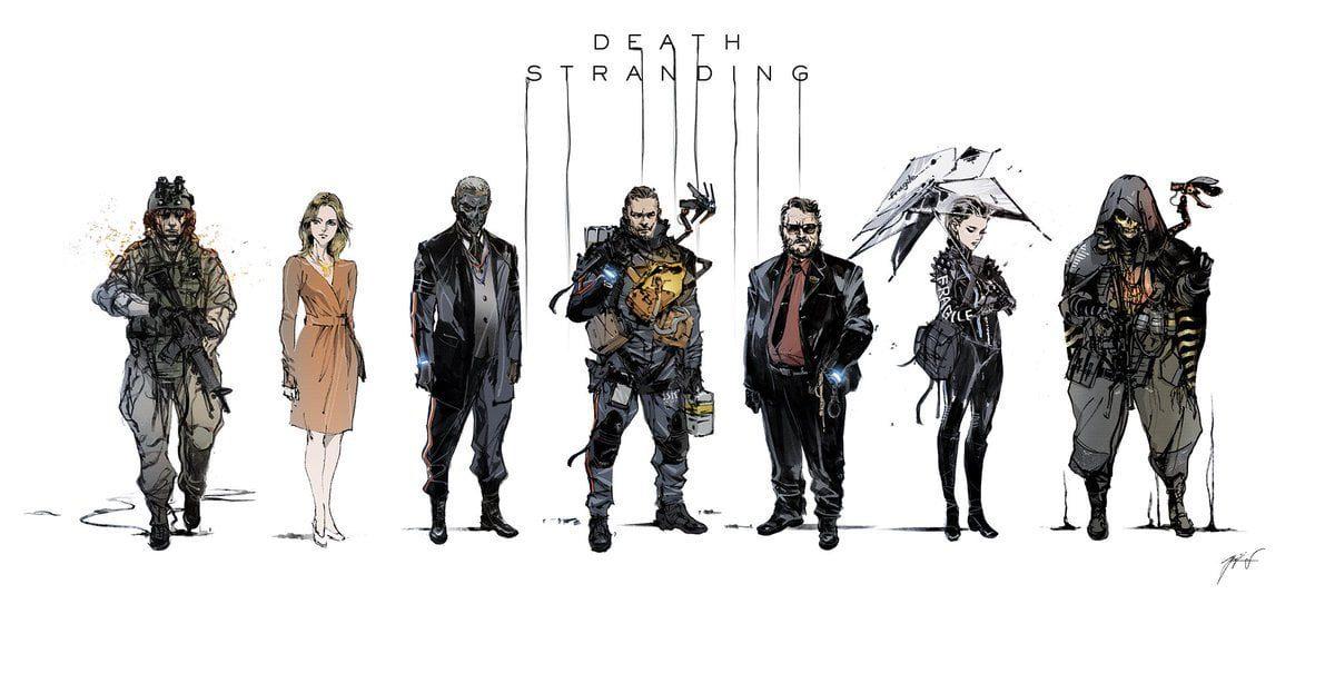 The Art of Death Stranding Art Book
