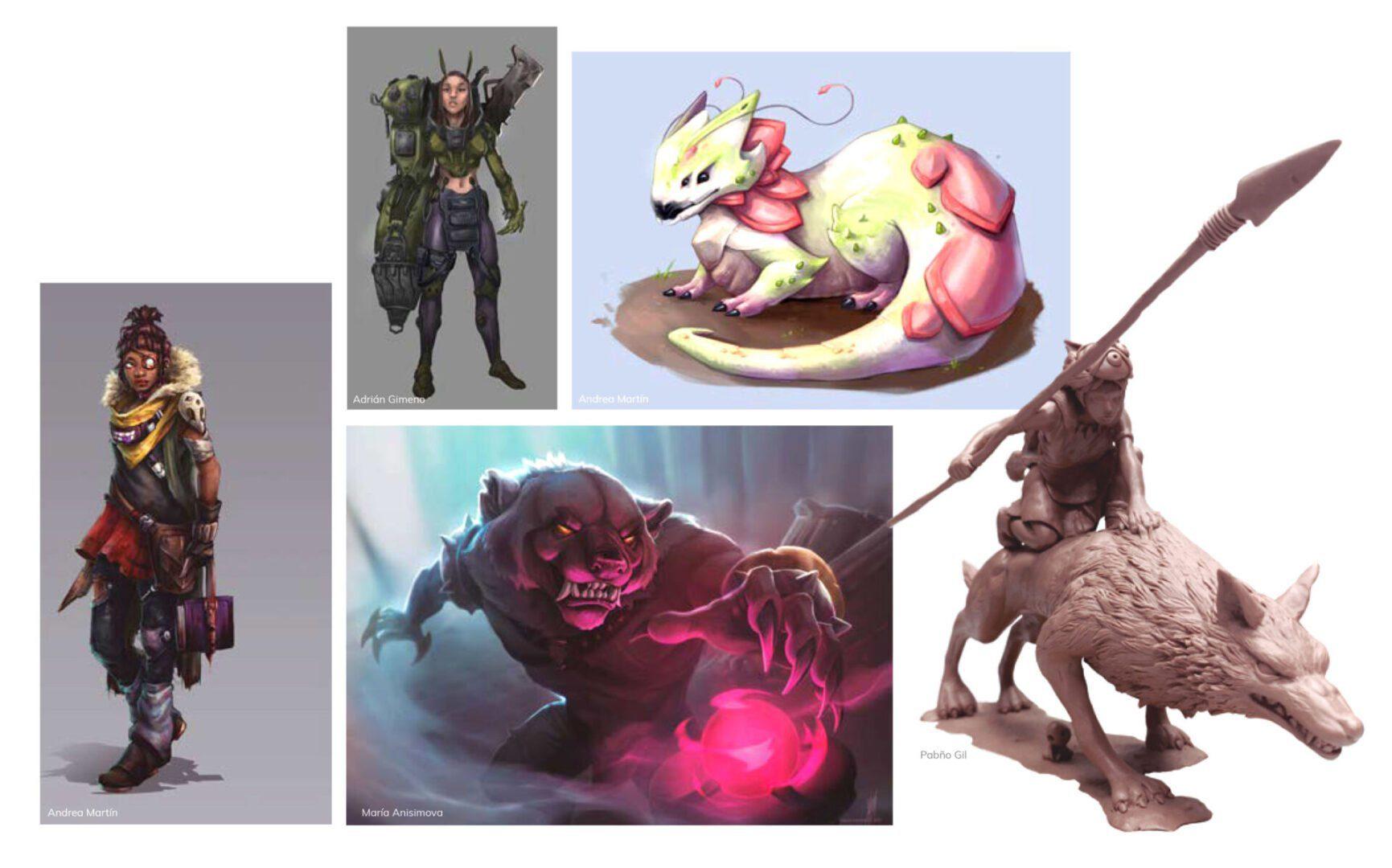 curso online concept art videojuegos