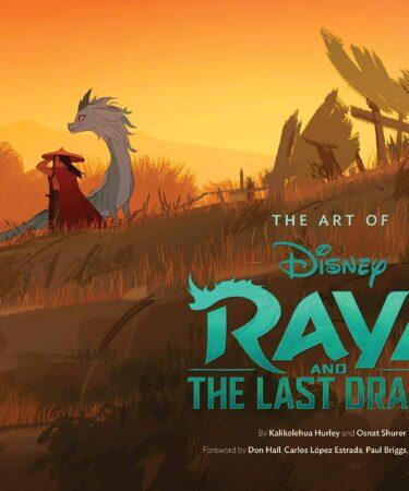 The Art of Raya and the Last Dragon artbook