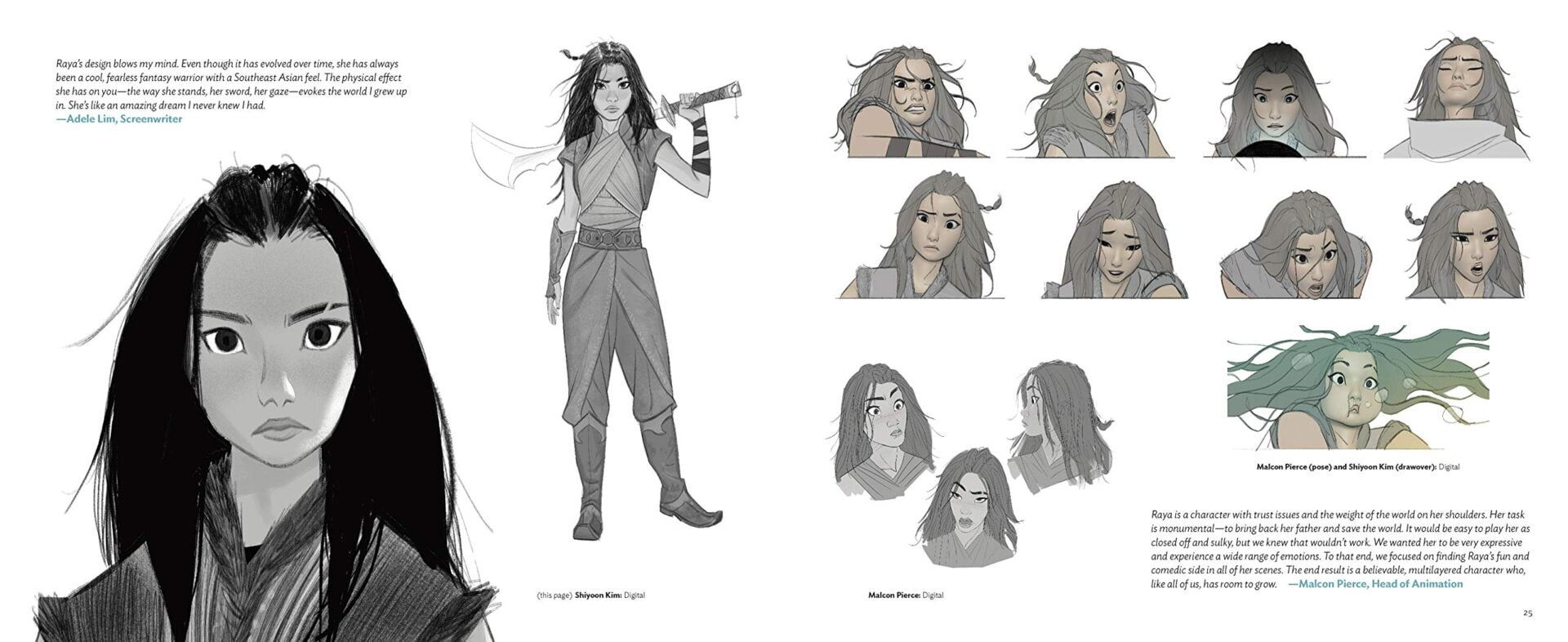 The Art of Raya and the Last Dragon concept art