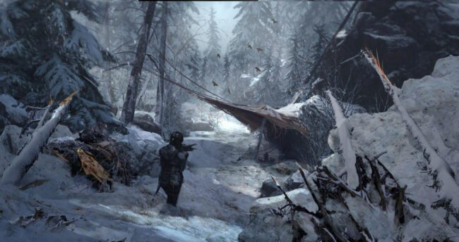 The Official Art Book | Rise of the Tomb Raider