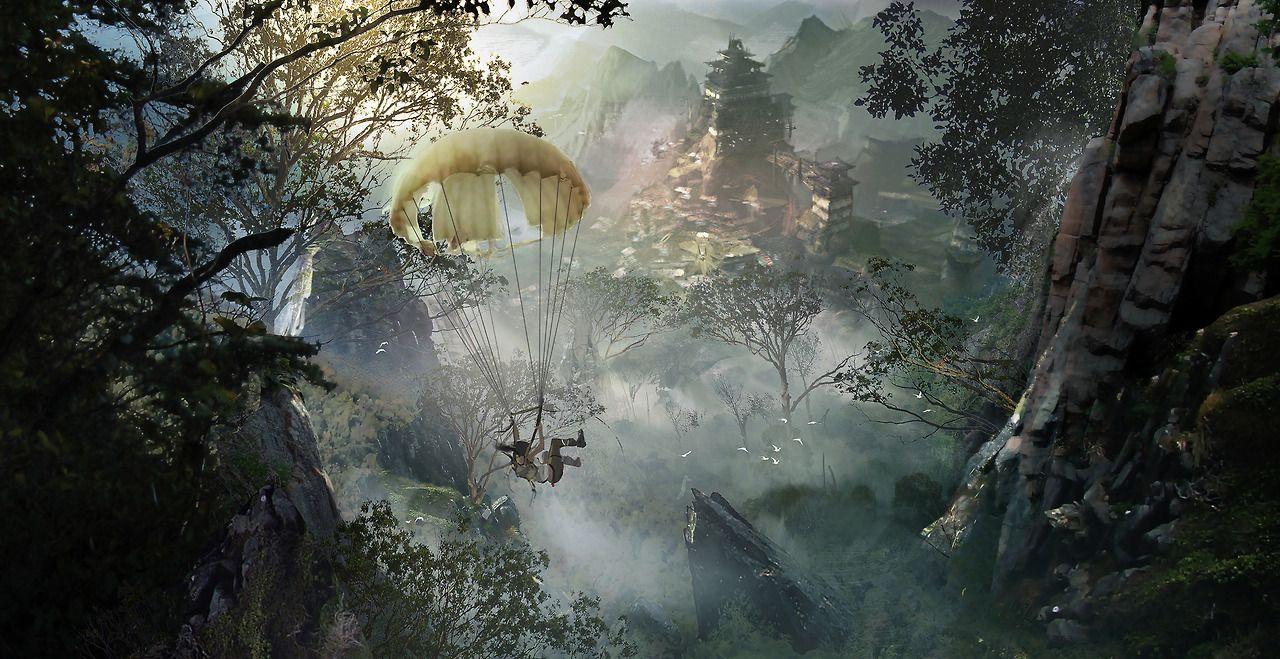 The Art of Tomb Raider A Survivor is Born