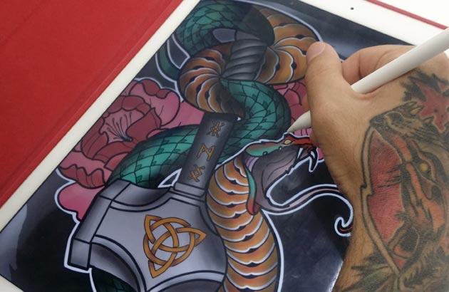 Curso de Dibujo y Color para tatuaje ONLINE